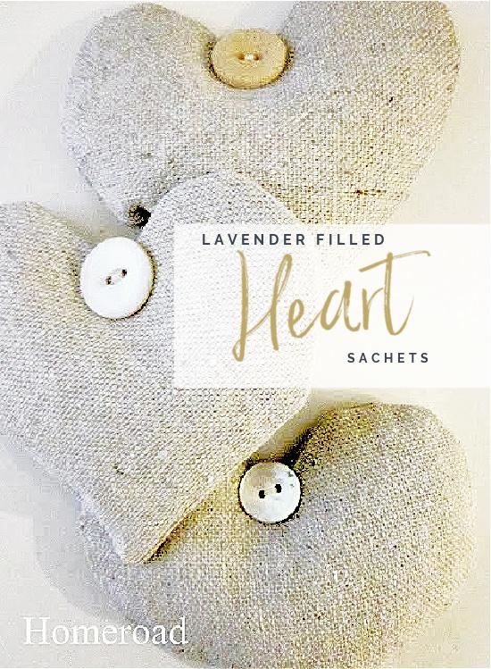 heart sachet pin with overlay