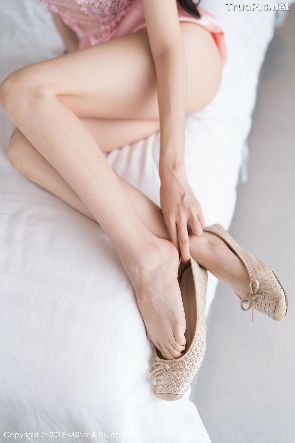 Image MiStar Vol.238 - Chinese Model - Xiao Reba (Angela小热巴) - Sleep Dress and Monokini - TruePic.net - Picture-8