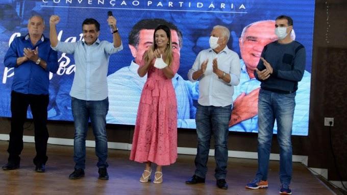 Luizinho Sobral oficializa candidatura em Irecê com Ló Saraiva como vice