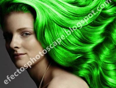 Editor para cambiar el color del pelo