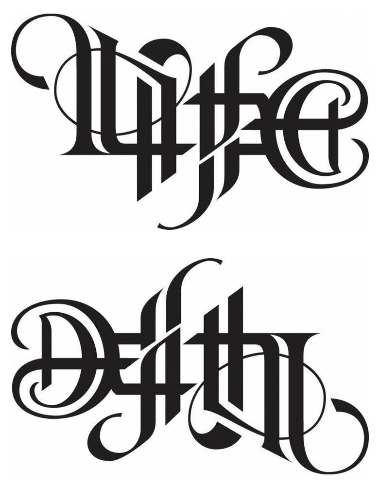 Life Death Ambigram : death, ambigram, Robservations:, Ambigrams