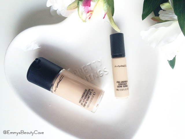 MAC PRO LONGWEAR FOUNDATION AND CONCEALER