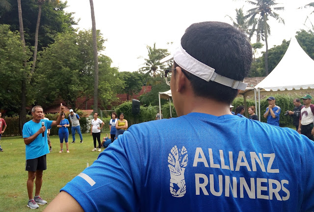 Berkeringat Bersama Allianz Sweat Challenge di Allianz Ecopark
