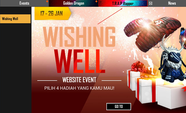 Bahas Detail Event Trap Rapper Free Fire Februari 2020