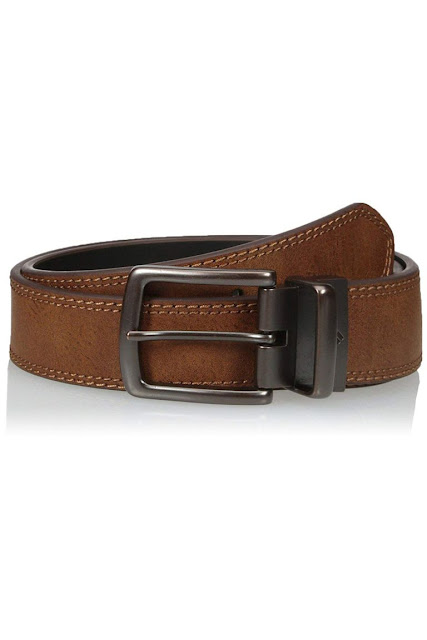 Wide-Stitch Reversible Belt