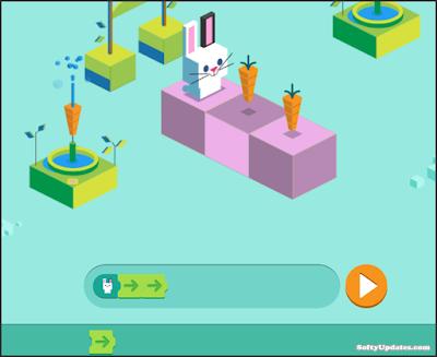 Doodle celebrates Arcade Games: Coding