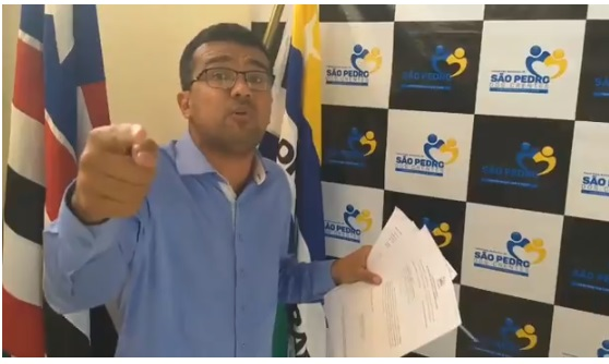 Prefeito Lahésio Rodrigues acusa governo Flávio Dino e TCE de tentar intimidá-lo