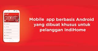 Mengelola Telepon Rumah, UseeTV dan Internet (3P Indihome) Dengan Android
