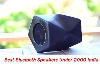 Best Bluetooth Speakers Under 2000 India 2020