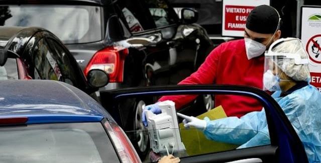 ايطاليا تستفيق على جثة مشتبهة بالاصابة بكورنا داخل مرحاض بمستشفى..والسلطات تضيف  مناطق جديدة للاكثراصابة بالوباء القاتل
