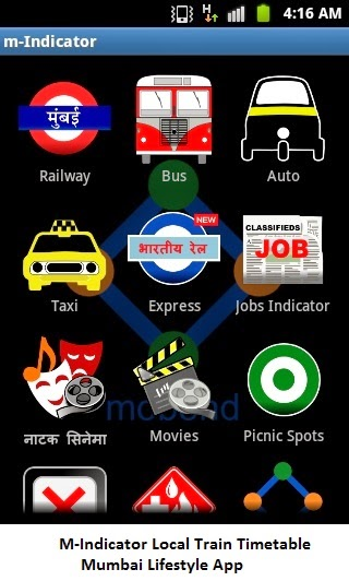 M-Indicator Local Train Timetable App Download