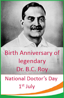 National Doctors' Day in India July 1, 2019, 2020