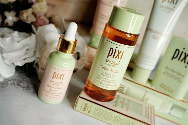 GLOW TONIC AND GLOW TONIC SERUM PIXI BEAUTY GLOW COLLECTION