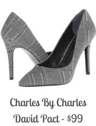 Sydney Fashion Hunter - Charles By Charles David Plaid Pump