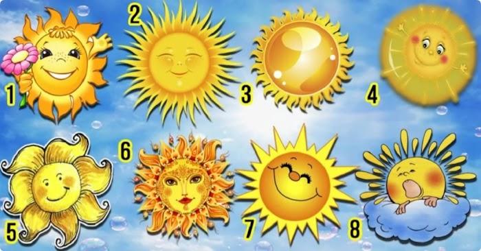 Выберите солнце и откройте сокровенные тайны своей души