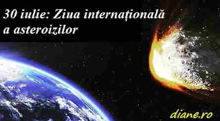 30 iulie: Ziua internațională a asteroizilor
