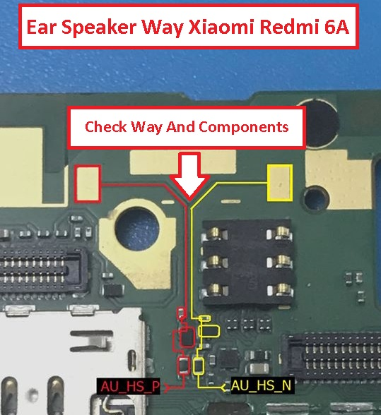 Repair Solution Ear Speaker Or Earpiece Xiaomi Redmi 6A
