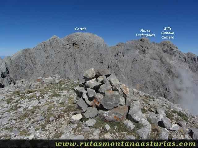 Ruta Canal Grajas y Covarones Cortes: Cima del Prao Cortés