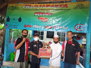 Kegiatan Baksos FK3O Jakarta