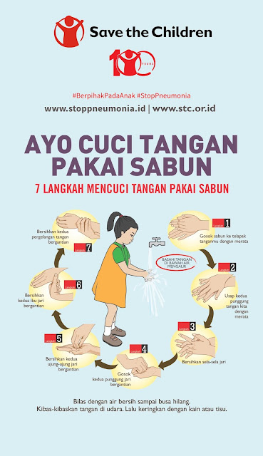 Pengadaan Wastafel Kelas sebagai Upaya Menurunkan Angka Pneumonia Anak di Indonesia