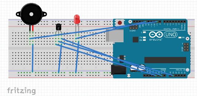 Circuit बनाएं Arduino का use करके