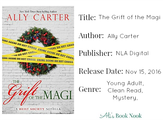 ally carter grift of the magi book information and review