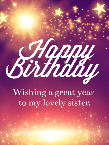 Happy Birthday Sister Wishes | Quotes | Messages and Images from Elder or Younger Brother