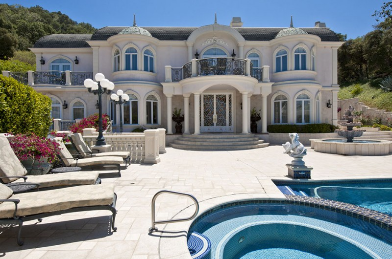 Passion for luxury french chateau in studio city los for French chateau homes for sale