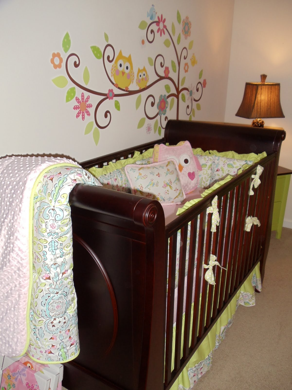 Greenville Baby Gorgeous Love Bird Nursery