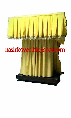 Nash Fesyen Tempahan Jahit Skirting Meja