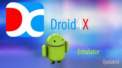Emulator android untuk pc terbaik - Droid4x android emulator