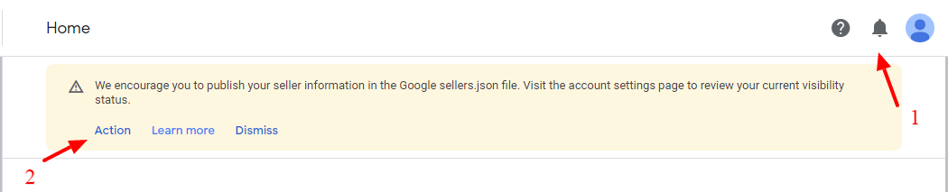 Google Adsense sellers json