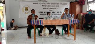 Ketua Fraksi Partai Gerindra Sosialisasikan Budik Damber di Desa Cibuntu Sukabumi