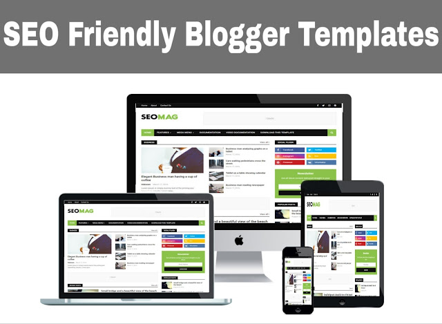 17 Best SEO Ready Blogger Templates 2020 Free Download