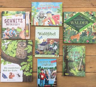 Waldbücher und Baumbücher für Kinder