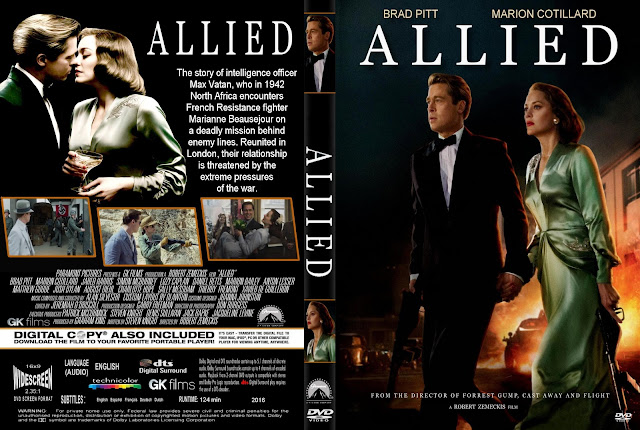 Allied DVD Cover