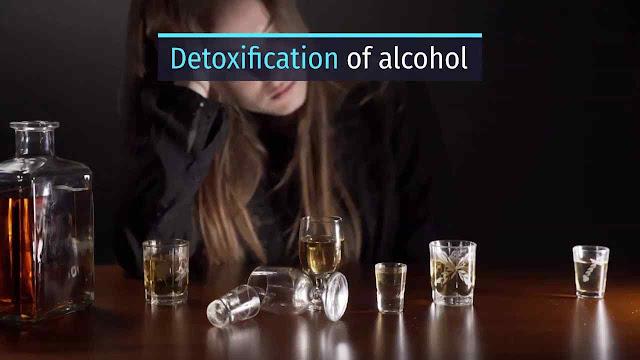 Detoxification of alcohol