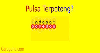 Pulsa Indosat Tersedot