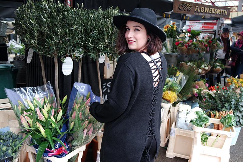 Flowers at Altrincham Market
