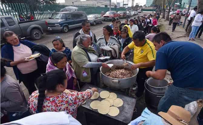 hambre, tortillas