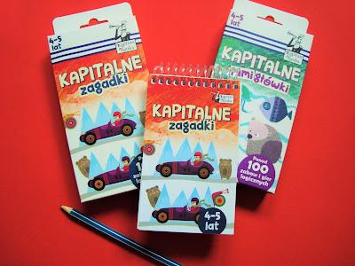 kapitalne zagadki, Kapitan Nauka, zadania dla przedszkolaka