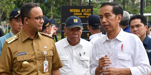 Ini 9 Proyek Infrastruktur Senilai Rp 571 Triliun yang Diajukan Anies kepada Jokowi
