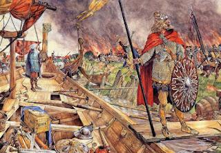 Ataque vikingo a Inglaterra