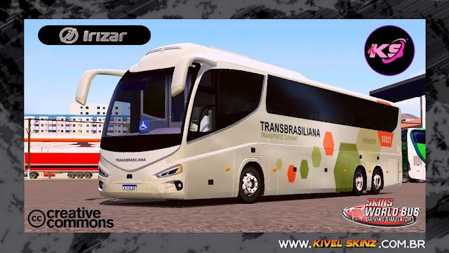 IRIZAR i8 - VIAÇÃO TRANSBRASILIANA PIONEIRO