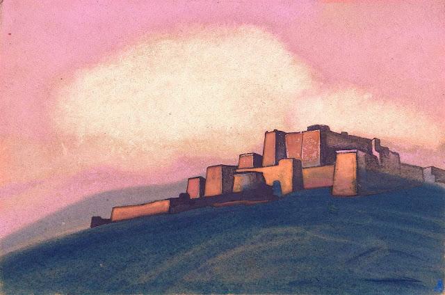 Николай Рерих - Тибетская крепость
