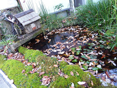 いきものふれあいセンター ミニチュアの水車小屋&睡蓮池