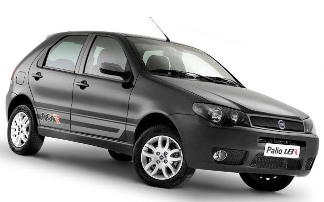 Fiat Palio - 2º carro mais vendido em 2005