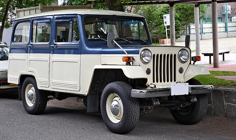 All about cars: Jeep CJ