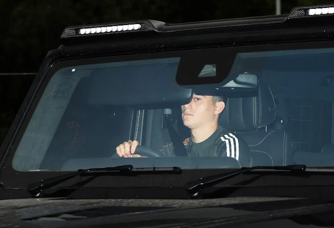 Pictures: Manchester United players return to training ahead of Europa League clash