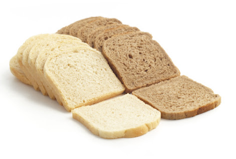 White And Brown Bread